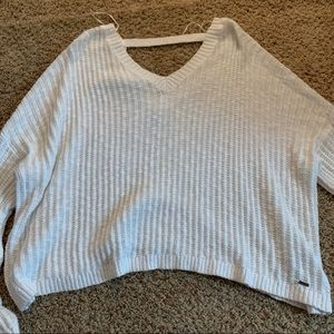 ❕NWOT Hollister Open Back Oversized Sweater | M-L